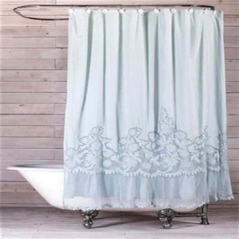 romantic shower curtains pom pom at home caprice shower curtain ships free
