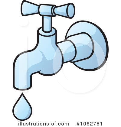 Leaking Faucets Faucet Clipart 1062781 Illustration By Any Vector