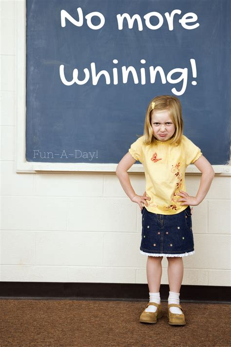 stop whining how to stop whining in preschool