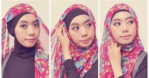 tutorial hijab simple pashmina sifon tutorial jilbab simple pashmina sifon tutorial hijab