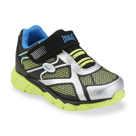 lime green athletic shoes everlast 174 toddler boy s crestmont lime green silver black