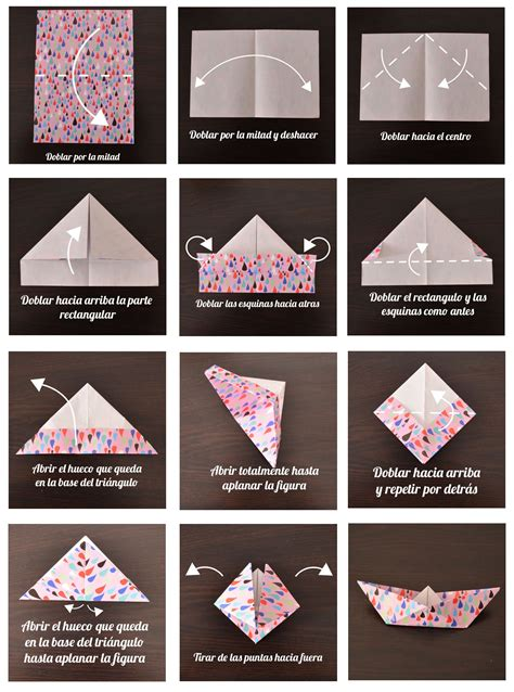 como hacer un barco origami m 243 vil de barcos de papel origami departamento de ideas