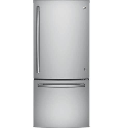 Single Door Refrigerator With Bottom Drawer Freezer by Ge Appliances Gbe21dskss 20 9 Cu Ft Single Door Bottom