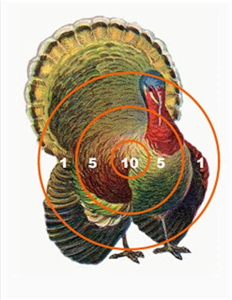 printable turkey targets sloppy kisses thankgiving planning and printables