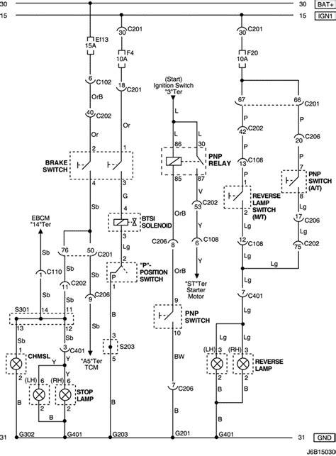 Electrical Wiring Diagram 2006 Nubira-Lacetti 15. STOP
