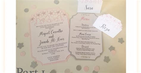your own wedding invitations uk silhouette uk your own wedding stationery part 1