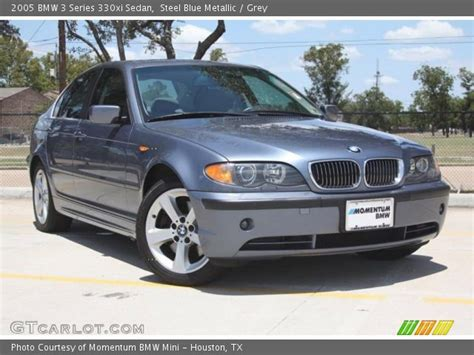 2005 bmw 3 series 330xi steel blue metallic 2005 bmw 3 series 330xi sedan grey