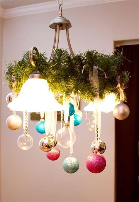 met chandelier christmas tree ornament tree ornament decorated chandelier hip simple