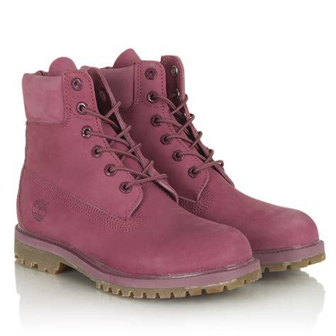 pink timberland boots womens timberland pink s 6 inch premium waterproof boot