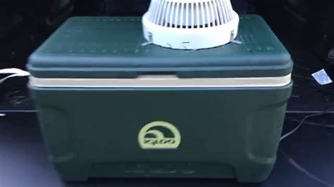 Truck Bed Cooler by Portable Truck Bed Air Conditioning Cap Shell A C Igloo