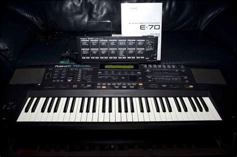 Keyboard Roland E70 roland e 70 image 714643 audiofanzine