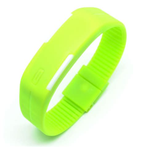 Jam Tangan Led Nike Malaysia jam tangan led gelang sport no logo green jakartanotebook