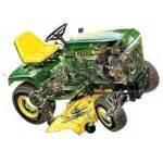 john deere tractor service manual 316 318 420 lawn amp g