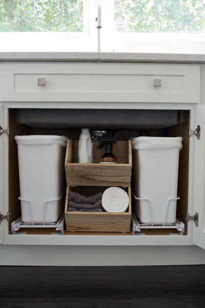 sliding trash can sink sink sliding organizer alopav