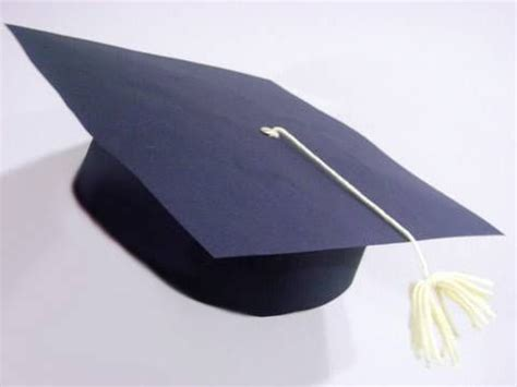 How To Make Paper Graduation Hats - how to make a paper graduation cap with your