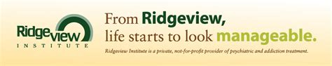 Ridgeview Detox by Professionals About Rehabs