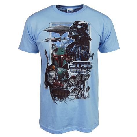 Wars T Shirt by Mens Wars Empire T Shirt Blue