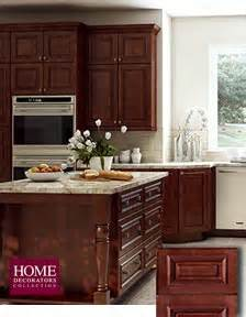 Kitchen Cabinets From Home Depot Reddish Brown Kitchen Cabinets