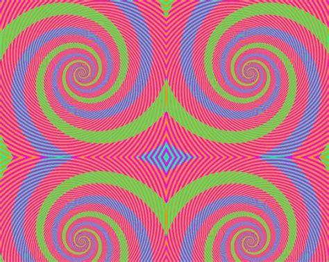 ilusiones opticas que te hacen alucinar 191 de qu 233 color son los espirales la famosa ilusi 243 n 243 ptica