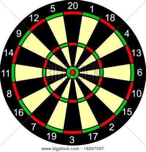 printable dart board targets dart board stock vector stock photos bigstock