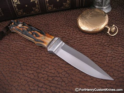 loveless city knife wd pease stag loveless city fort henry custom