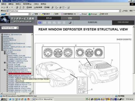 auto repair manual online 2007 mazda rx 8 parental controls mazda rx8 work shop manual