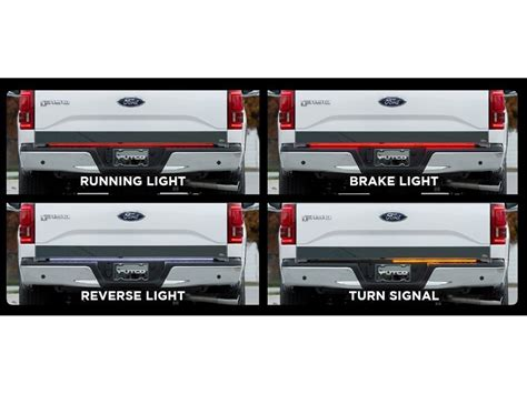 Putco Switchblade Led Tailgate Light Bars Sharptruck Com Tailgate Led Light Bars