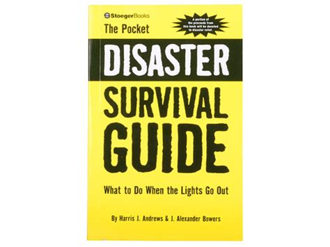 sftr a survival guide survival guides books the pocket disaster survival guide book by harris j mpn