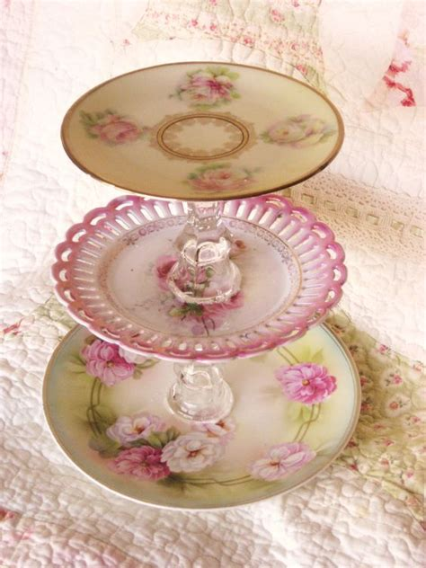 shabby chic plates style vintage plates and shabby chic style on