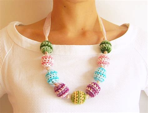crochet necklace with crochet necklace 183 how to knit or crochet a knit or