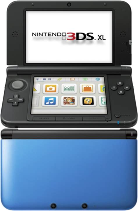 nintendo 3ds xl console sale nintendo 3ds xl console blue and black consoles