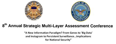 acformation the new information paradigm dod strategic multi layer assessment conference a new
