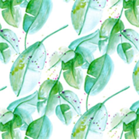 22017 Tropical Summer Sml green leaves fabric wallpaper gift wrap spoonflower