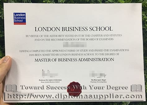 Mba Master Of Business Academy by Business School Lbs Degree For Sale