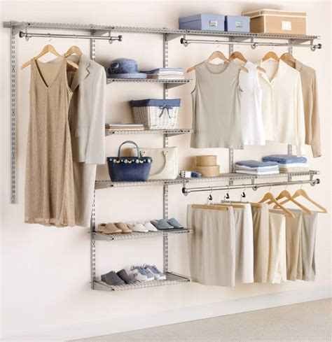 rubbermaid custom closet kit adjustable shelves clothes