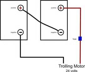 24 volt trolling motor battery diagram