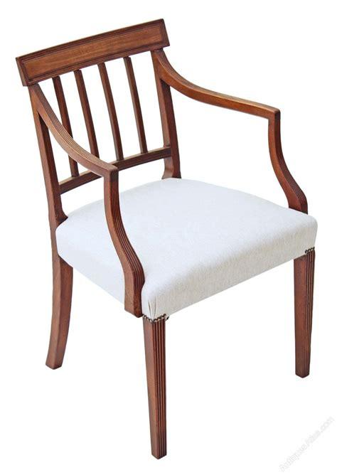 Georgian Dining Chairs Set Of 8 6 2 Mahogany Georgian Dining Chairs Antiques Atlas