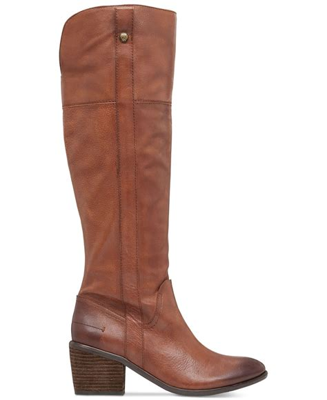 vince camuto shoes vince camuto mordona boots in brown bourbon