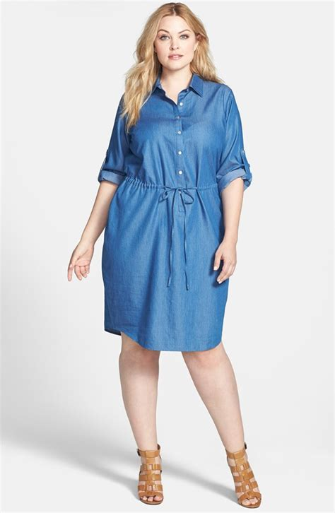 plus size shirt dress 09