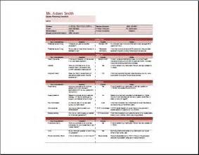 estate planning checklist template word amp excel templates