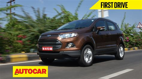 ford crossover 2016 2016 ford ecosport review cars suv crossovers