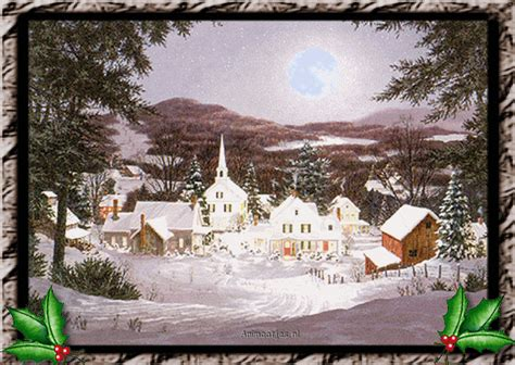 christmas houses animated images gifs pictures