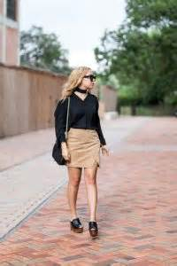 suede skirts flowy tops chic in the of