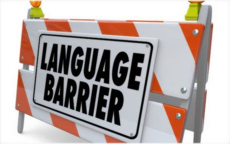 you to do what barriers are you speaking a different language practice 174