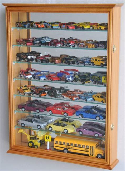 Diecast Collector Cases   Mirrored Back Large, Curio