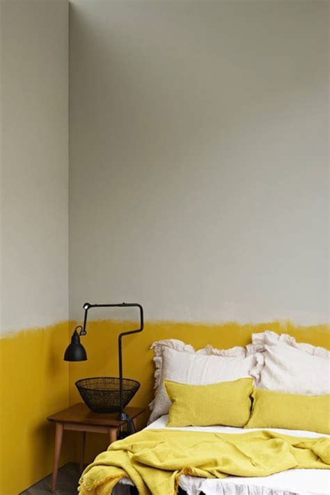 yellow paint bedroom 22 clever color blocking paint ideas to make your walls pop