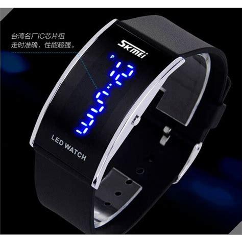Jam Led skmei jam tangan led 0805a2 jakartanotebook