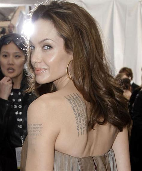 tattoo angelina jolie wanted clickandseeworld is all about funny amazing pictures