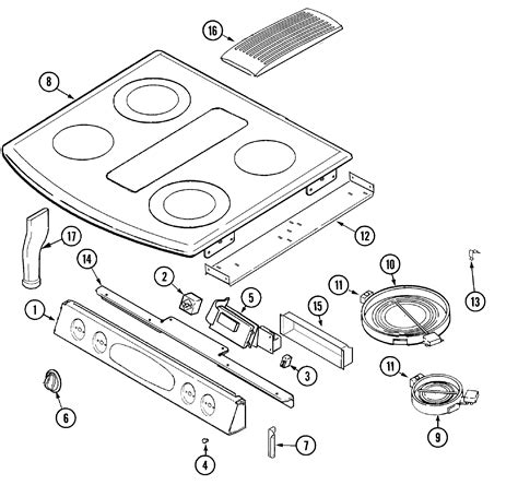 Jenn Air Electric Cooktop Replacement Parts - jenn air replacement parts evaluate hardware