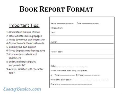 How To Write A Book Report College Level How To Write A College Level Book Report Bright Hub